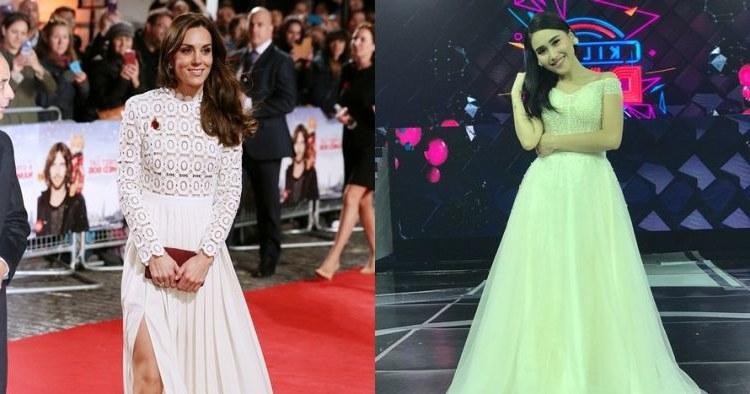 Inspirasi Model Baju Lebaran Ayu Ting Ting Fmdf Pakai Baju Kembaran Kate Middleton A Ayu Ting Ting