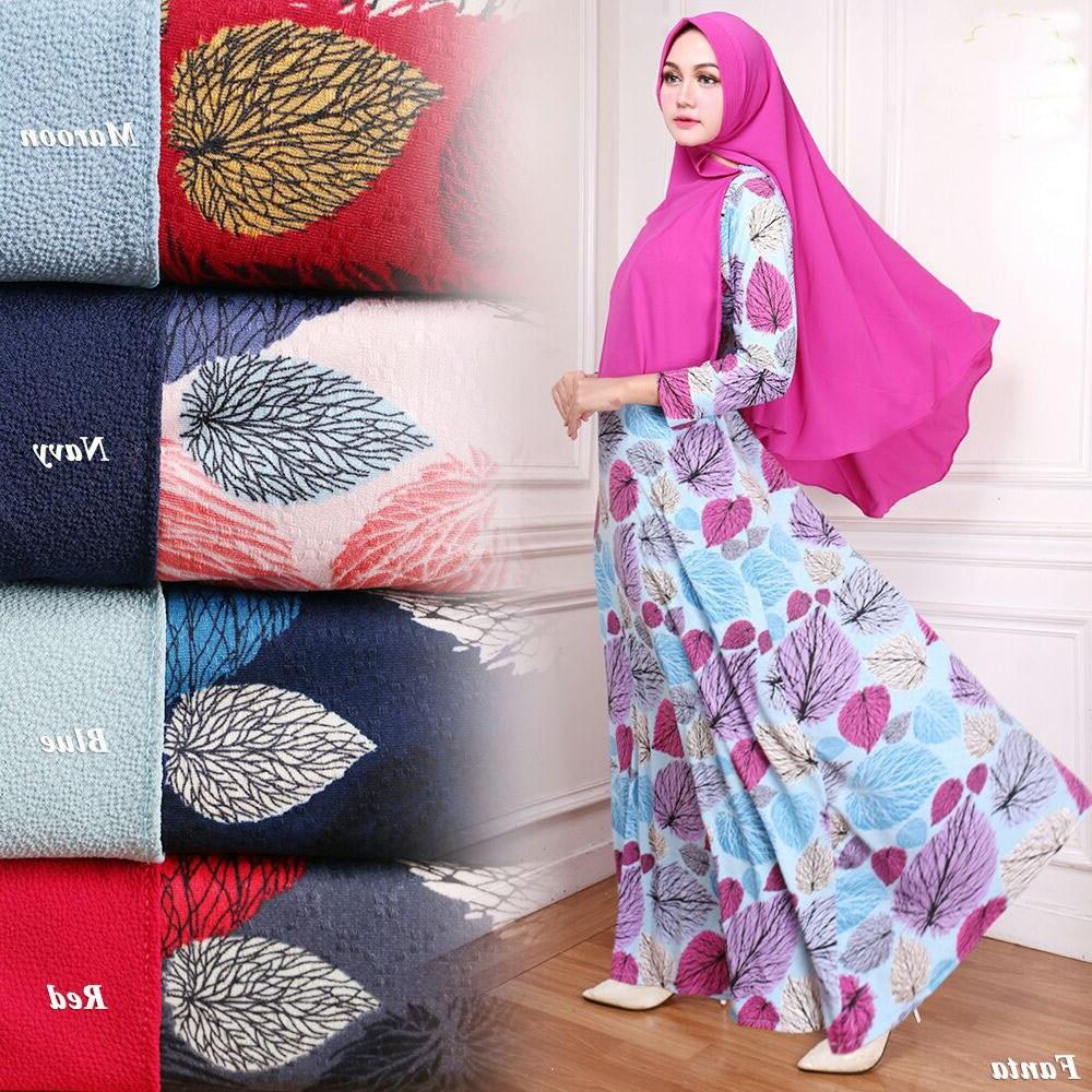 Inspirasi Model Baju Lebaran Di Thamrin City 9ddf Grosir Baju Gamis Syar'i Bahan Dior Motif Daun G107
