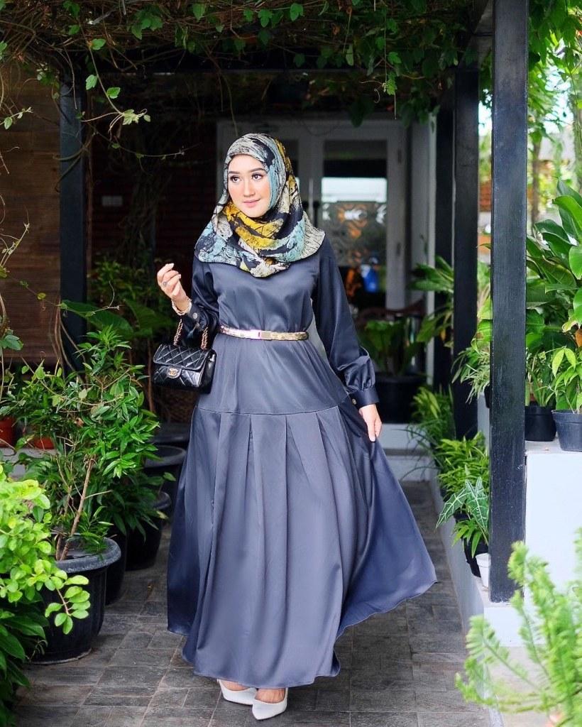 Inspirasi Model Baju Lebaran Dian Pelangi 3id6 Trend Model Busana Muslim Dian Pelangi Edisi 2017
