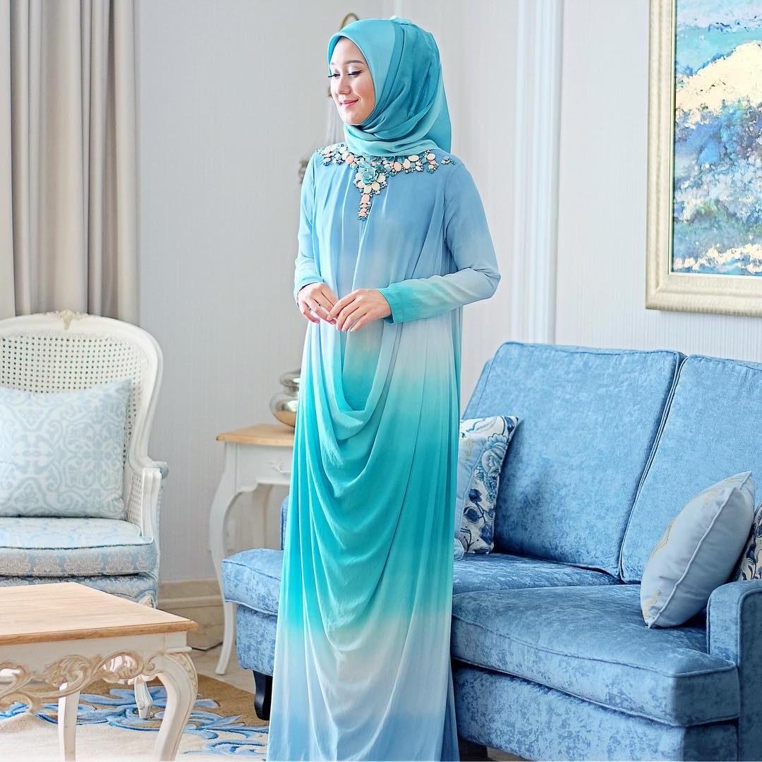 Inspirasi Model Baju Lebaran Dian Pelangi Txdf 15 Model Baju Muslim Untuk Pesta Ala Dian Pelangi