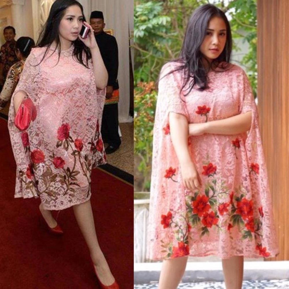 Inspirasi Model Baju Lebaran Nagita Slavina Drdp Trend Alert 2017 Kaftan Ala Nagita Slavina Yang Super
