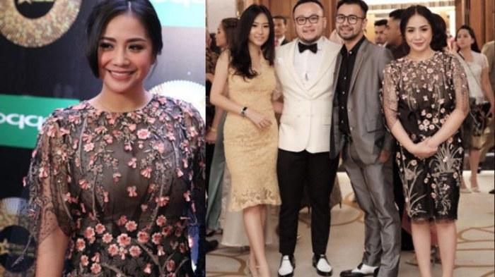 Inspirasi Model Baju Lebaran Nagita Slavina Fmdf Datang Ke Pernikahan Hamish Raisa Pakai Baju Lama Foto