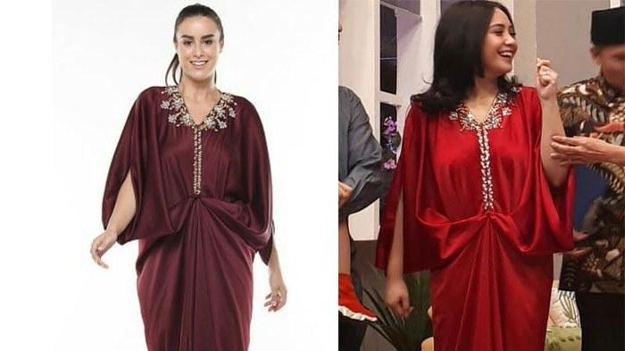 Inspirasi Model Baju Lebaran Nagita Slavina Whdr 6 Busana Muslimah Ala Nagita Slavina Yang Pas Untuk