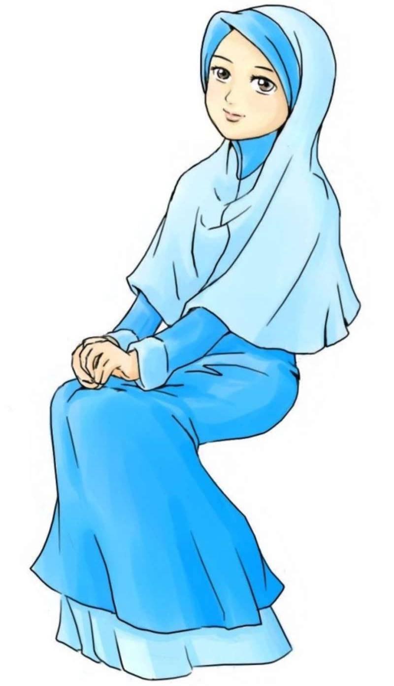 Inspirasi Muslimah Kartun Cantik E6d5 35 Kartun Muslimah Terbaru Anak Cemerlang
