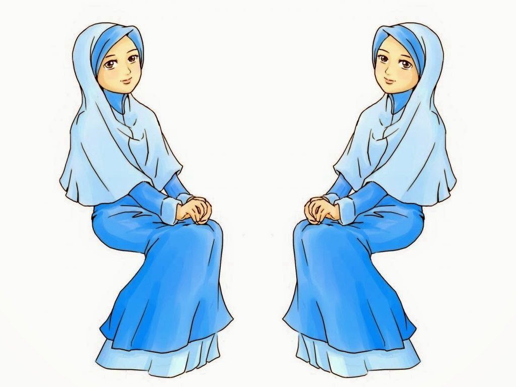 Inspirasi Muslimah Kartun Cantik Etdg Wallpaper Kartun Muslimah Cantik