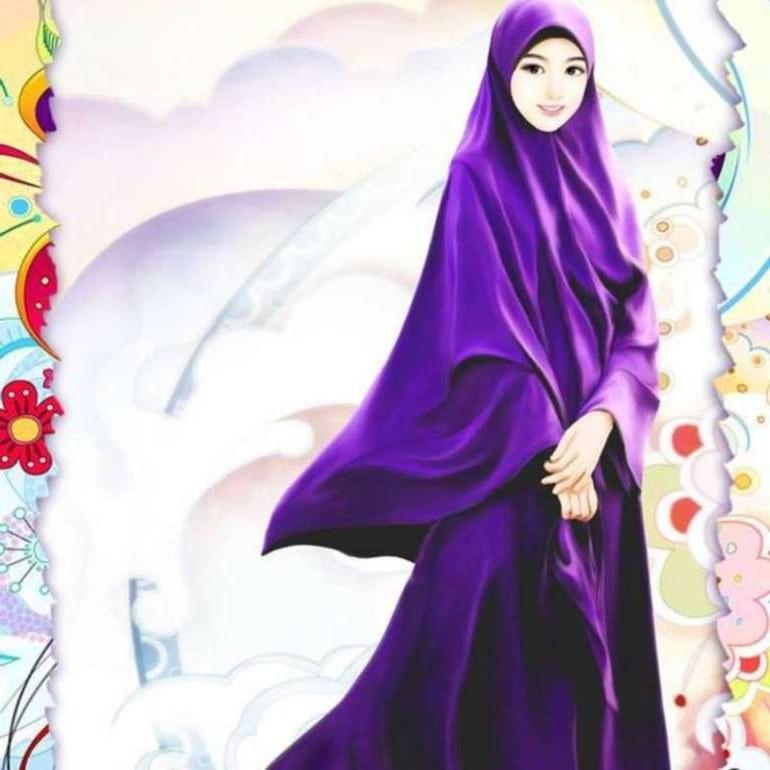 Inspirasi Muslimah Kartun Cantik Ffdn 75 Gambar Kartun Muslimah Cantik Dan Imut Bercadar