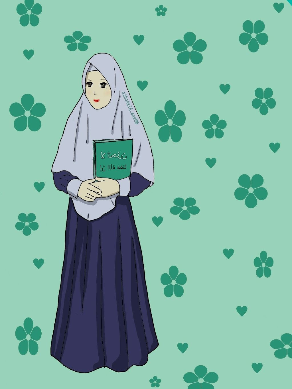 Inspirasi Muslimah Kartun Cantik Ipdd Gambar Kartun Muslimah Koleksi Gambar Hd