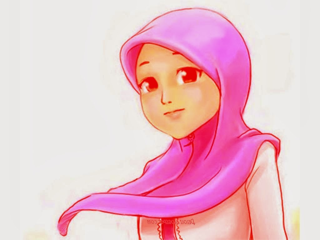 Inspirasi Muslimah Kartun Cantik Y7du Wallpaper Kartun Muslimah Cantik