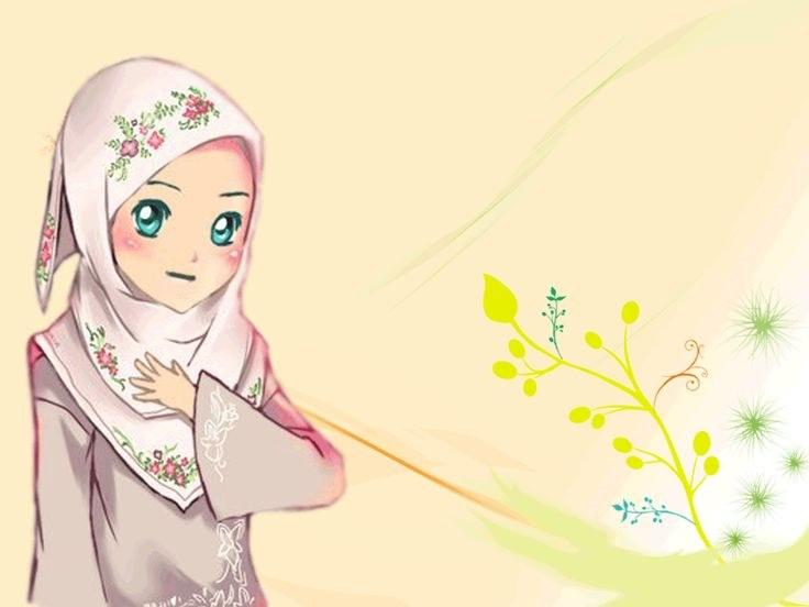 Inspirasi Muslimah Kartun Lucu 3id6 Gambar Kartun Muslimah Cantik Berhijab Animasi Bergerak
