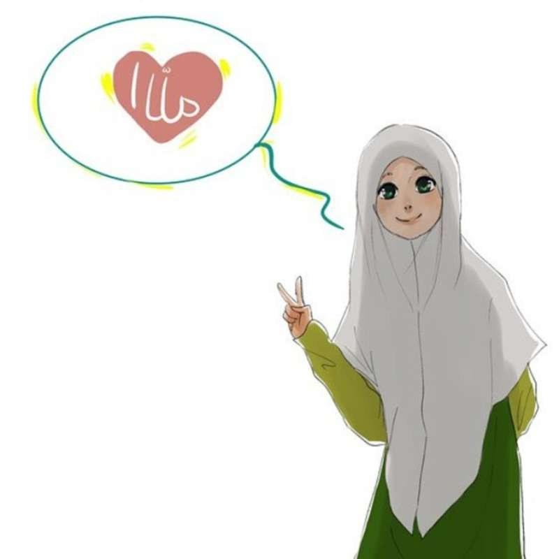 Inspirasi Muslimah Kartun Lucu 3ldq 19 Kartun Muslimah Lucu Anak Cemerlang
