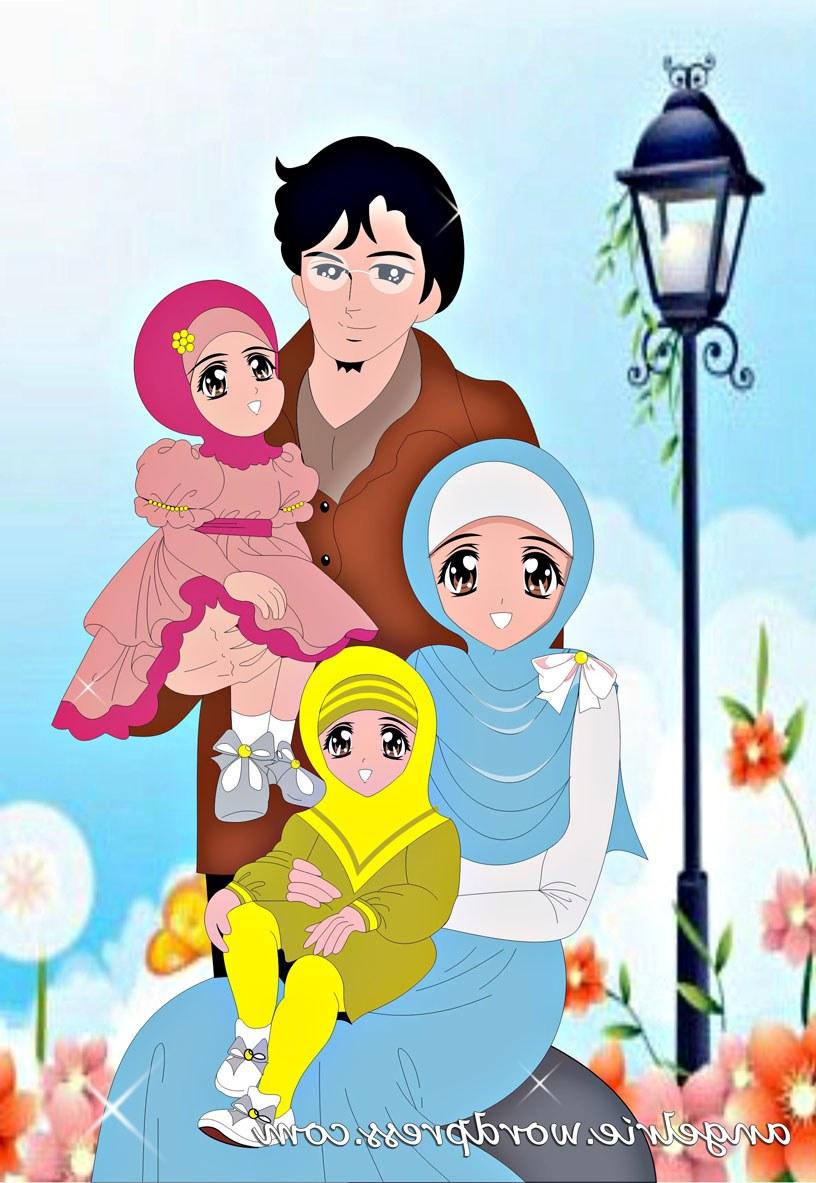 Inspirasi Muslimah Kartun Lucu Budm Foto Lucu Bergerak Muslimah Terlengkap