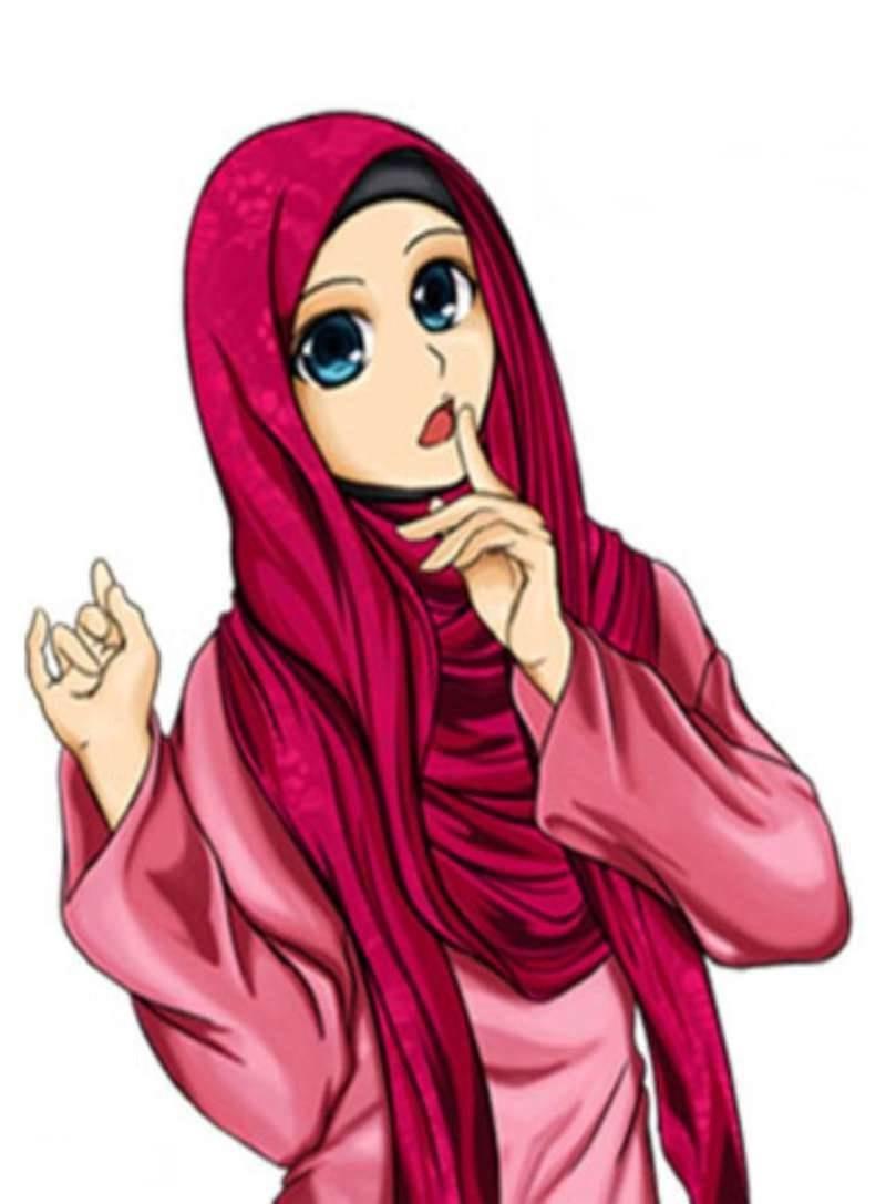 Inspirasi Muslimah Kartun Lucu H9d9 19 Kartun Muslimah Lucu