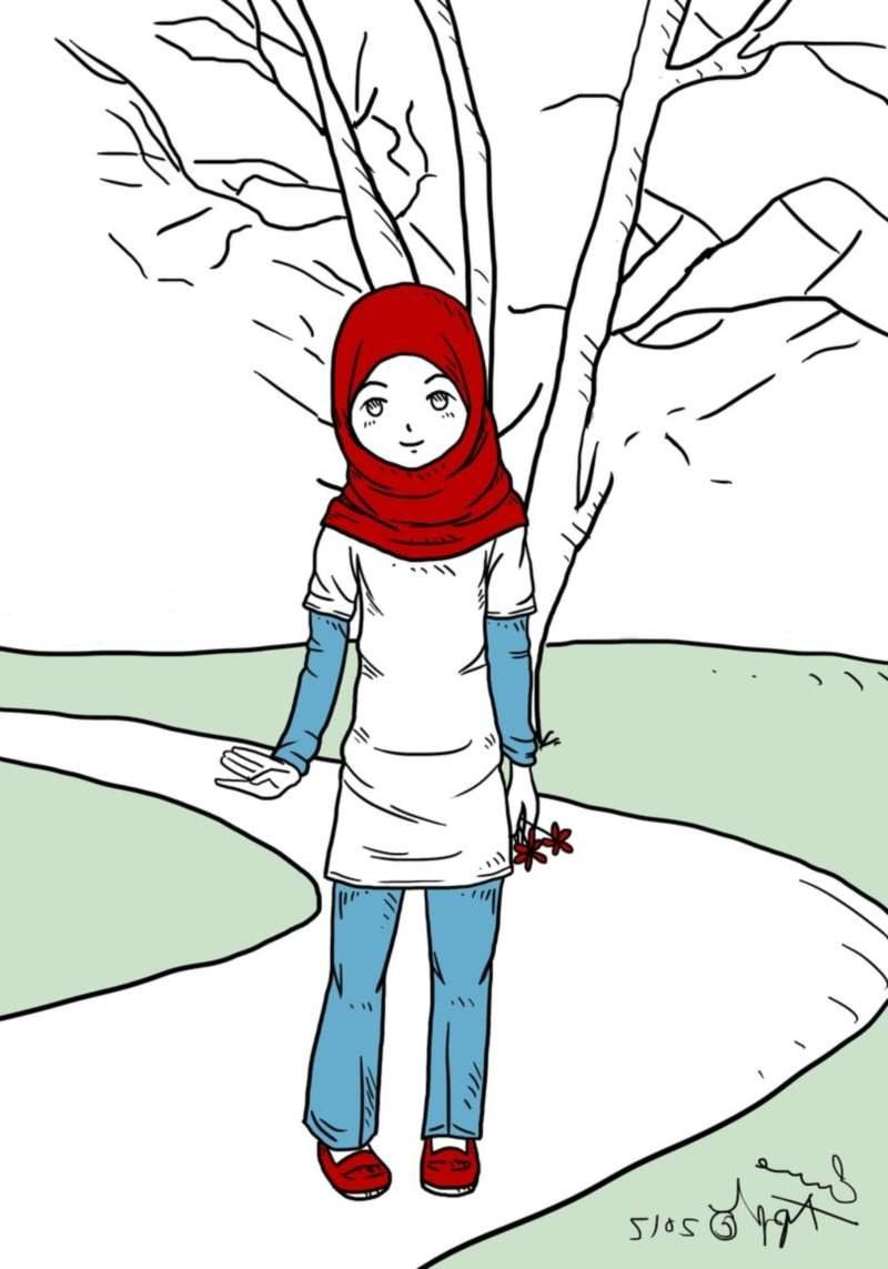 Inspirasi Muslimah Kartun Lucu Qwdq 19 Kartun Muslimah Lucu Anak Cemerlang