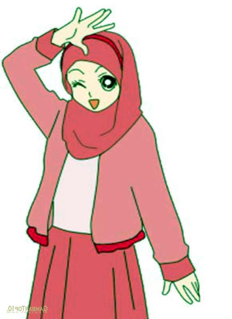 Inspirasi Muslimah Kartun Lucu S1du 19 Kartun Muslimah Lucu Anak Cemerlang