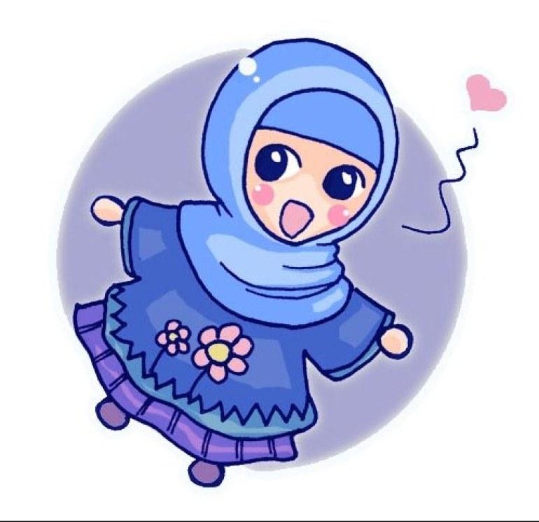 Inspirasi Muslimah Kartun Lucu Thdr 75 Gambar Kartun Muslimah Cantik Dan Imut Bercadar