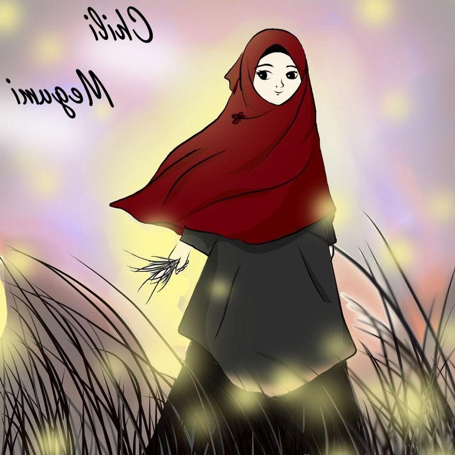 Inspirasi Muslimah Kartun Lucu Txdf Gambar Kartun Muslimah Terbaru 2018