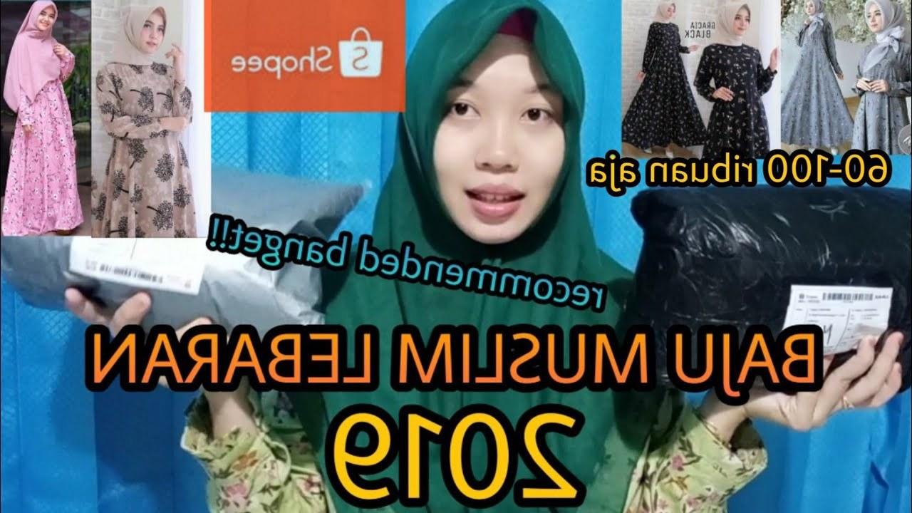 Inspirasi Rekomendasi Baju Lebaran 3id6 Haul Shopee 2 Rekomendasi Olshop Gamis Muslim Lebaran