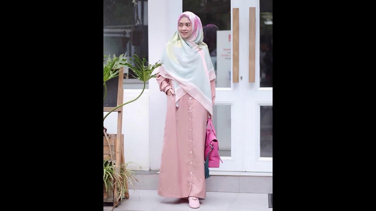 Inspirasi Style Baju Lebaran 3id6 Style Gamis Terbaru Inspirasi Baju Lebaran