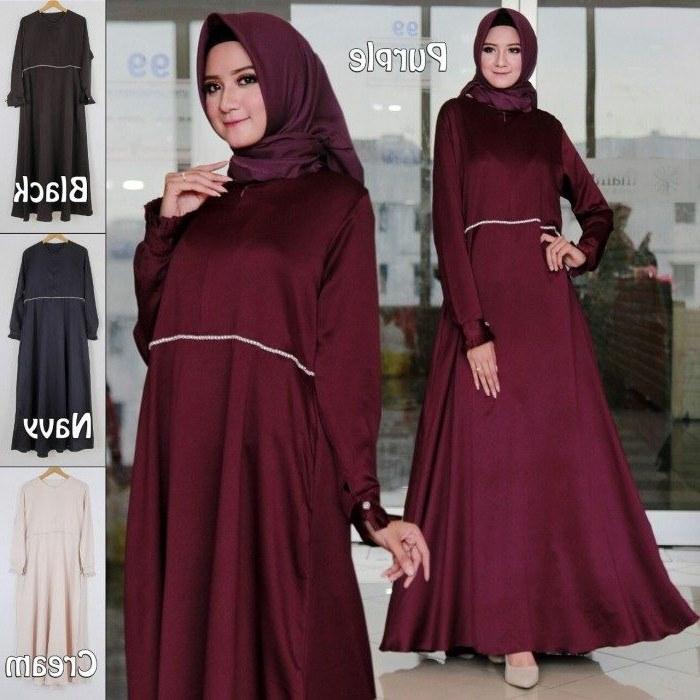 Inspirasi Trend Baju Lebaran 2019 S1du Model Baju Lebaran Remaja Muslim 2019