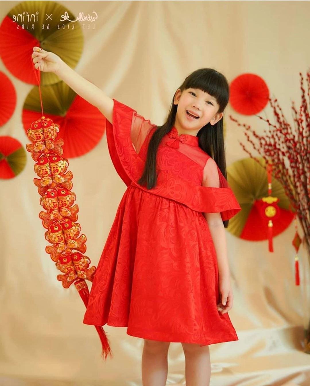 Inspirasi Trend Baju Lebaran Tahun 2020 Thdr 22 Trend Model Baju Pesta Anak Terbaru 2020 Model Kebaya