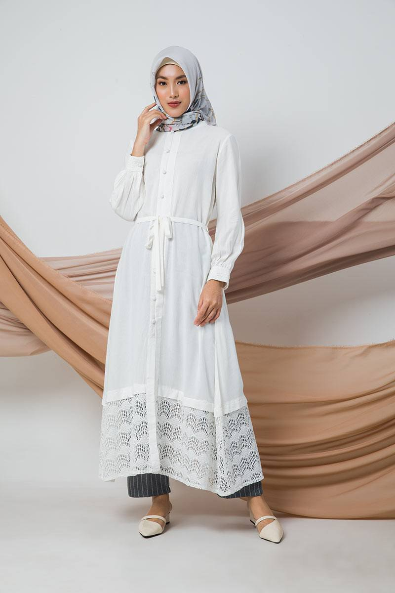 Inspirasi Trend Baju Lebaran Tahun 2020 Zwd9 Intip Trend Model Baju Gamis Lebaran 2020 Dari Hijabenka