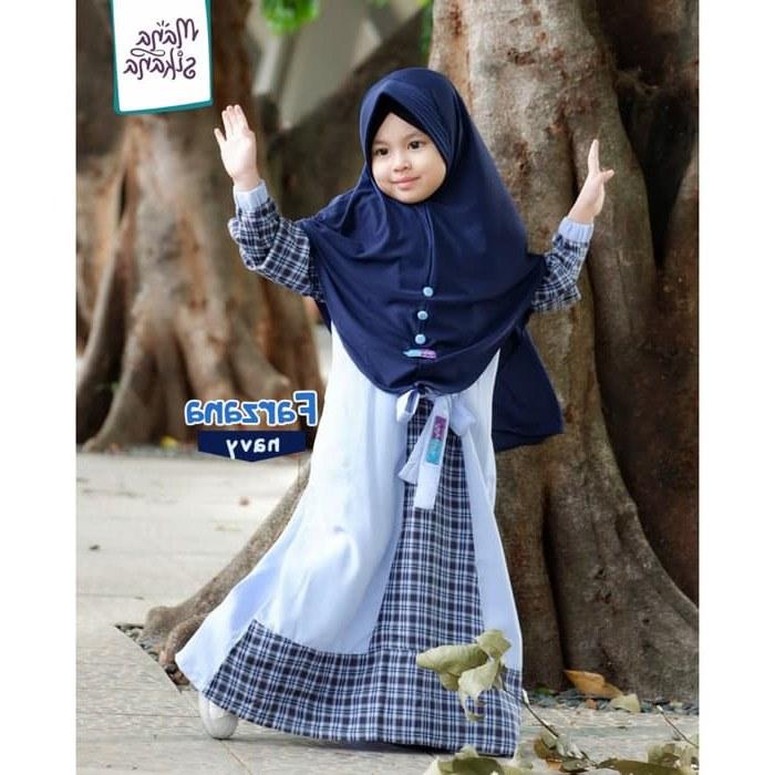 Model Baju Lebaran 2019 Anak Perempuan 8ydm Trend Model Baju Muslim Wanita 2019 • Info Tren Baju
