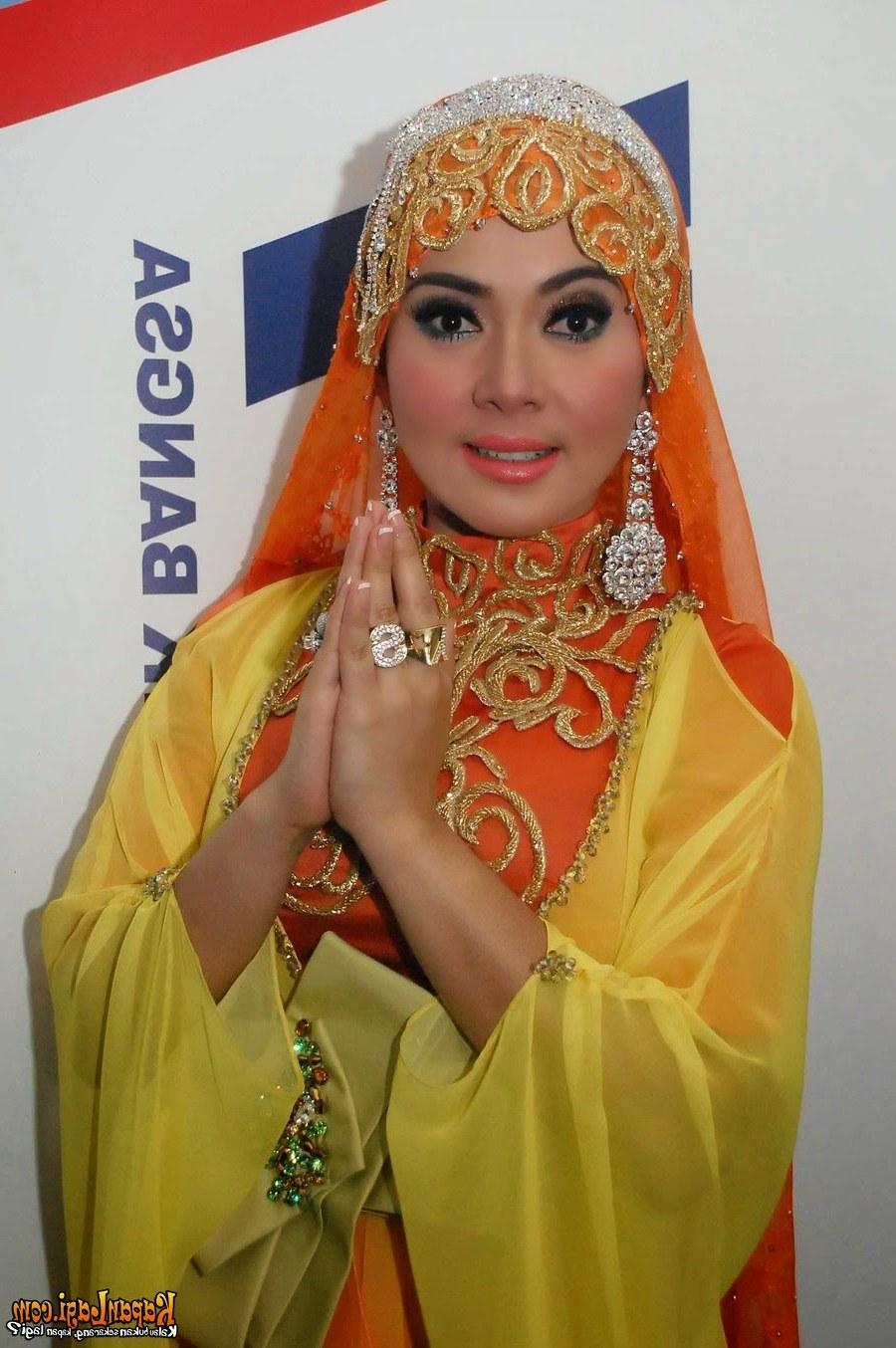 Model Baju Lebaran Ala Syahrini O2d5 13 Foto Desain Baju Muslim Syahrini Kumpulan Model Baju