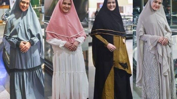 Model Baju Lebaran Ala Syahrini Txdf Inspirasi Baju Lebaran Gamis Syar I Modern Ala Cut