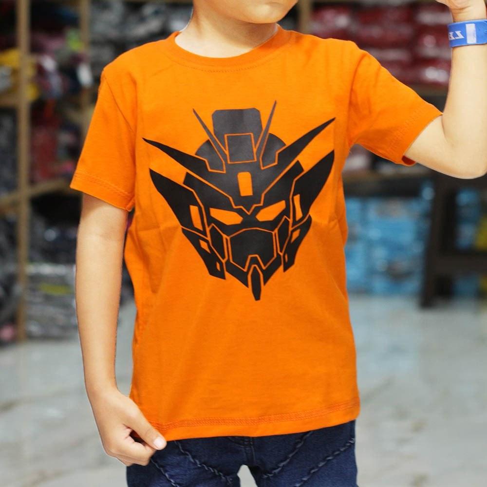 Model Baju Lebaran Anak Laki Laki 2019 Dddy Baju Kaos Anak Superhero Gundam Terlaris Oshkosh Baju