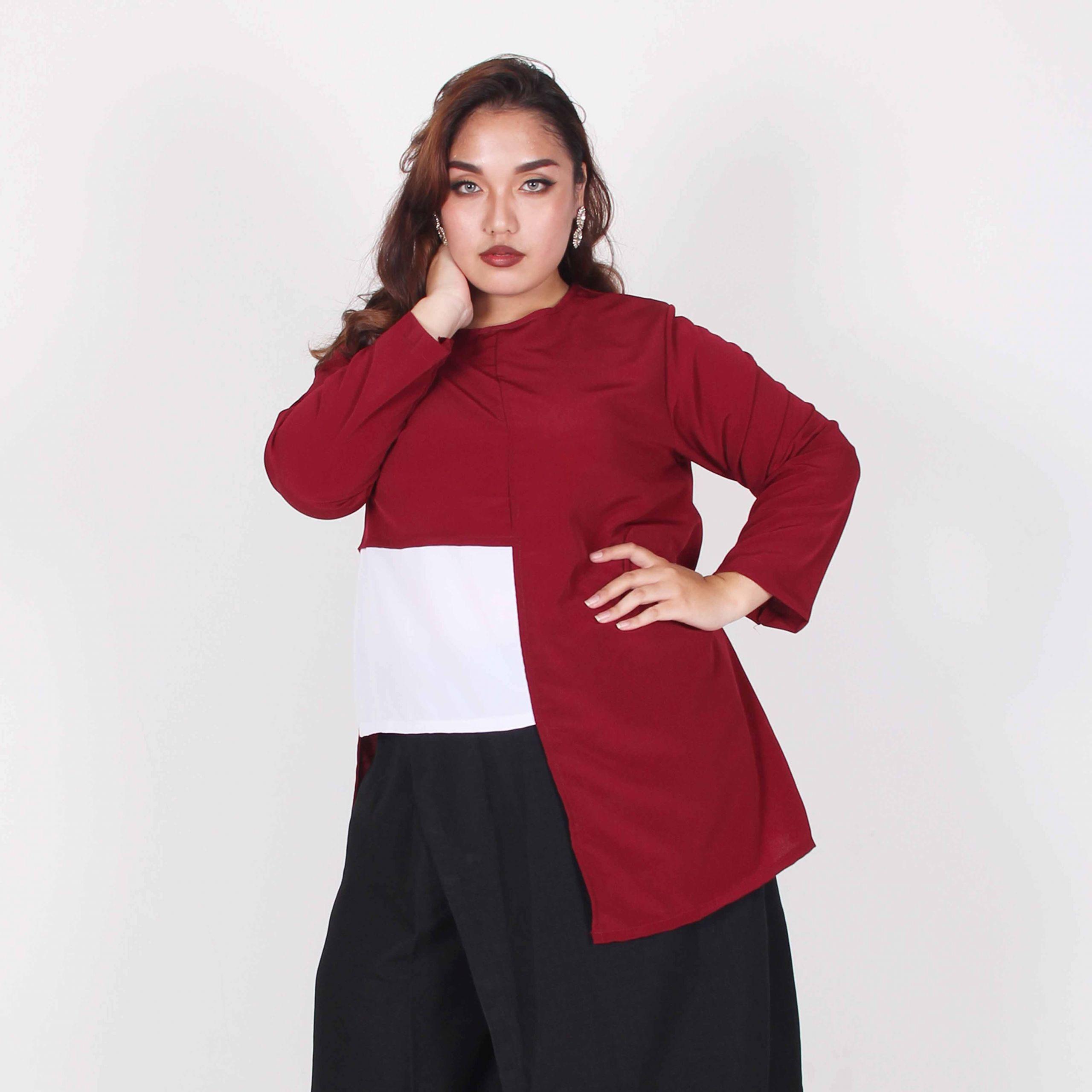 Model Baju Lebaran Big Size Dwdk Bodybigsize Baju Wanita Big Size 20