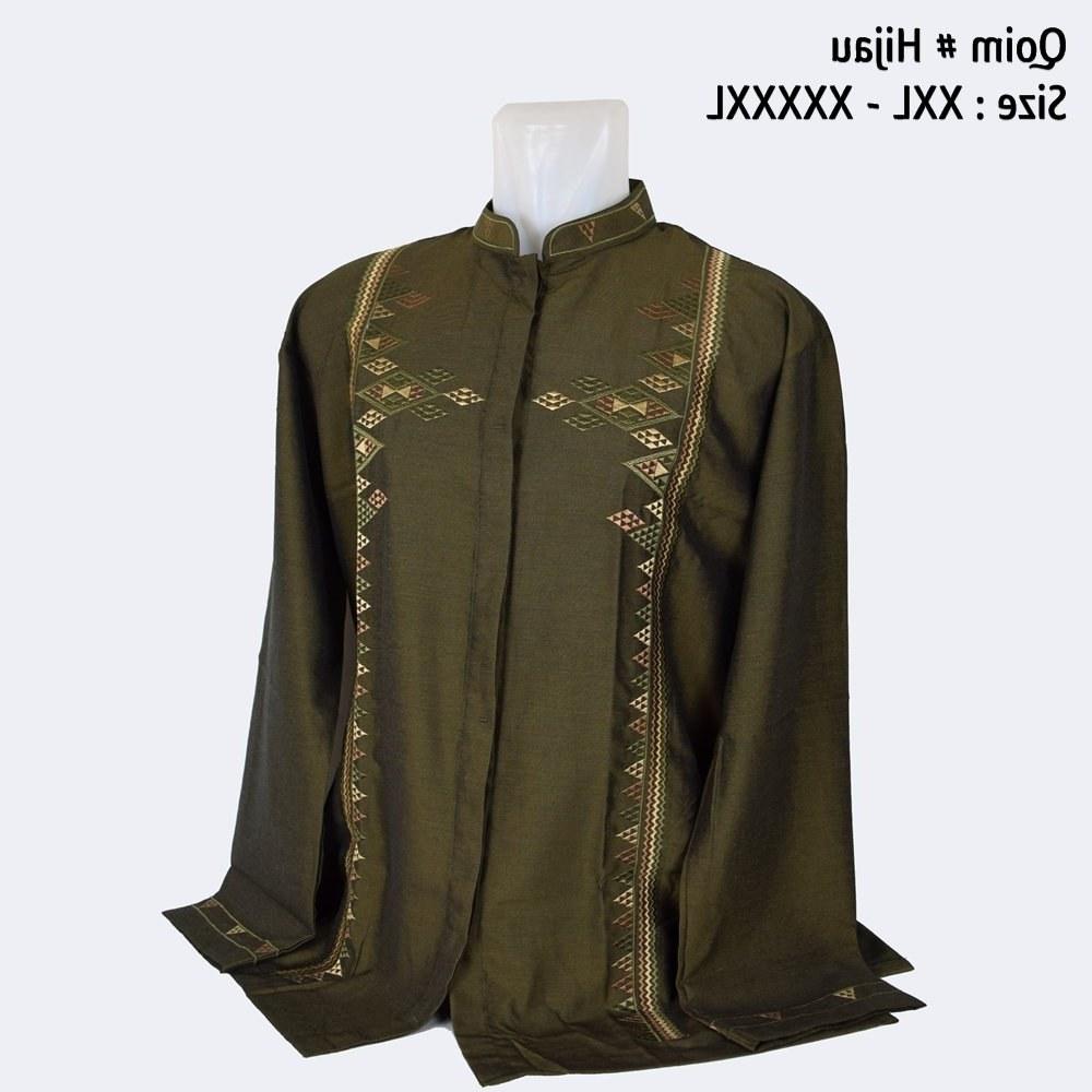 Model Baju Lebaran Big Size Whdr Jual Baju Koko Big Size Lengan Panjang Bahan Premium Jumbo