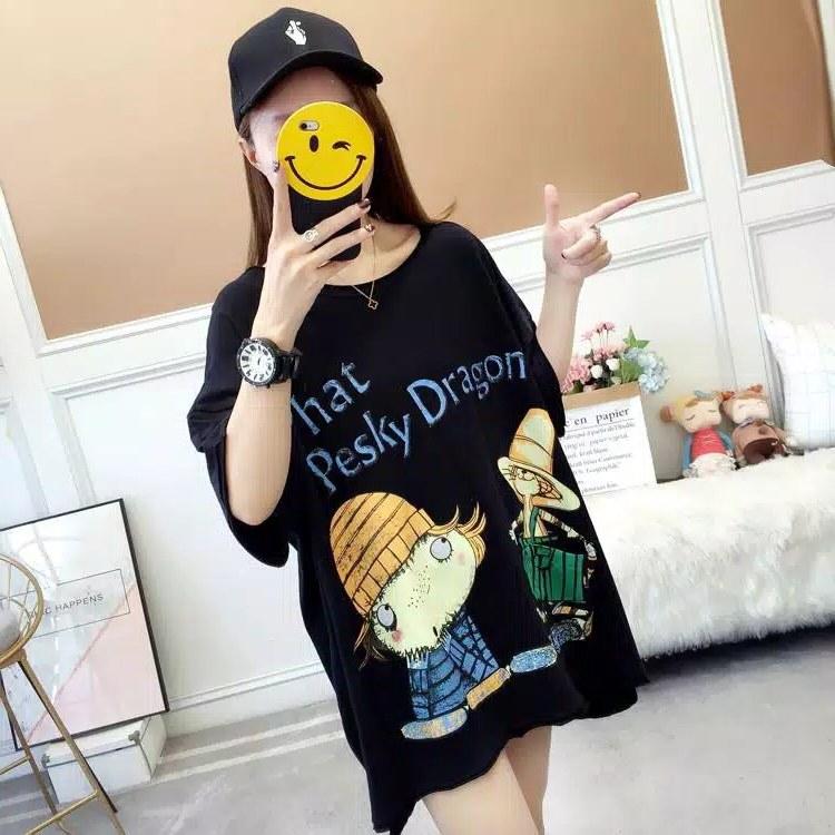 Model Baju Lebaran Big Size X8d1 Baju atasan Kaos Jumbo Big Size Dragon 2 Usahaimport