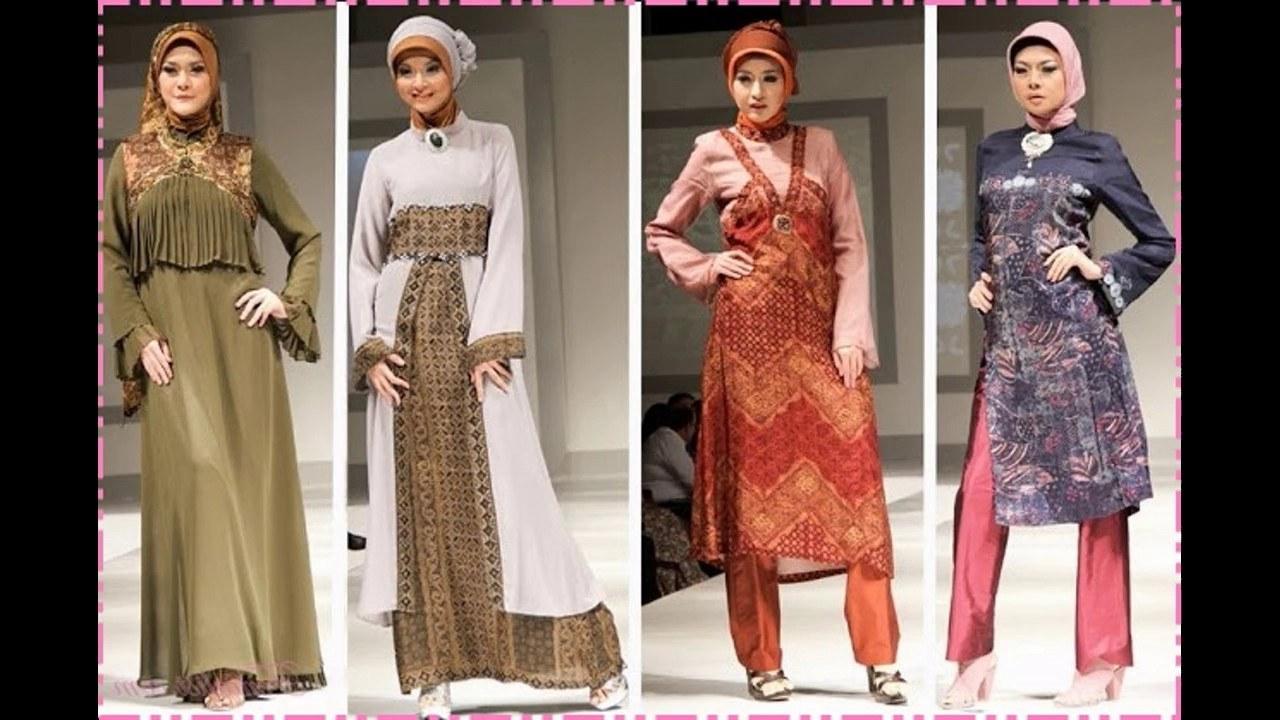 Model Baju Lebaran Celana 87dx Baju Muslim atasan Bawahan Celana