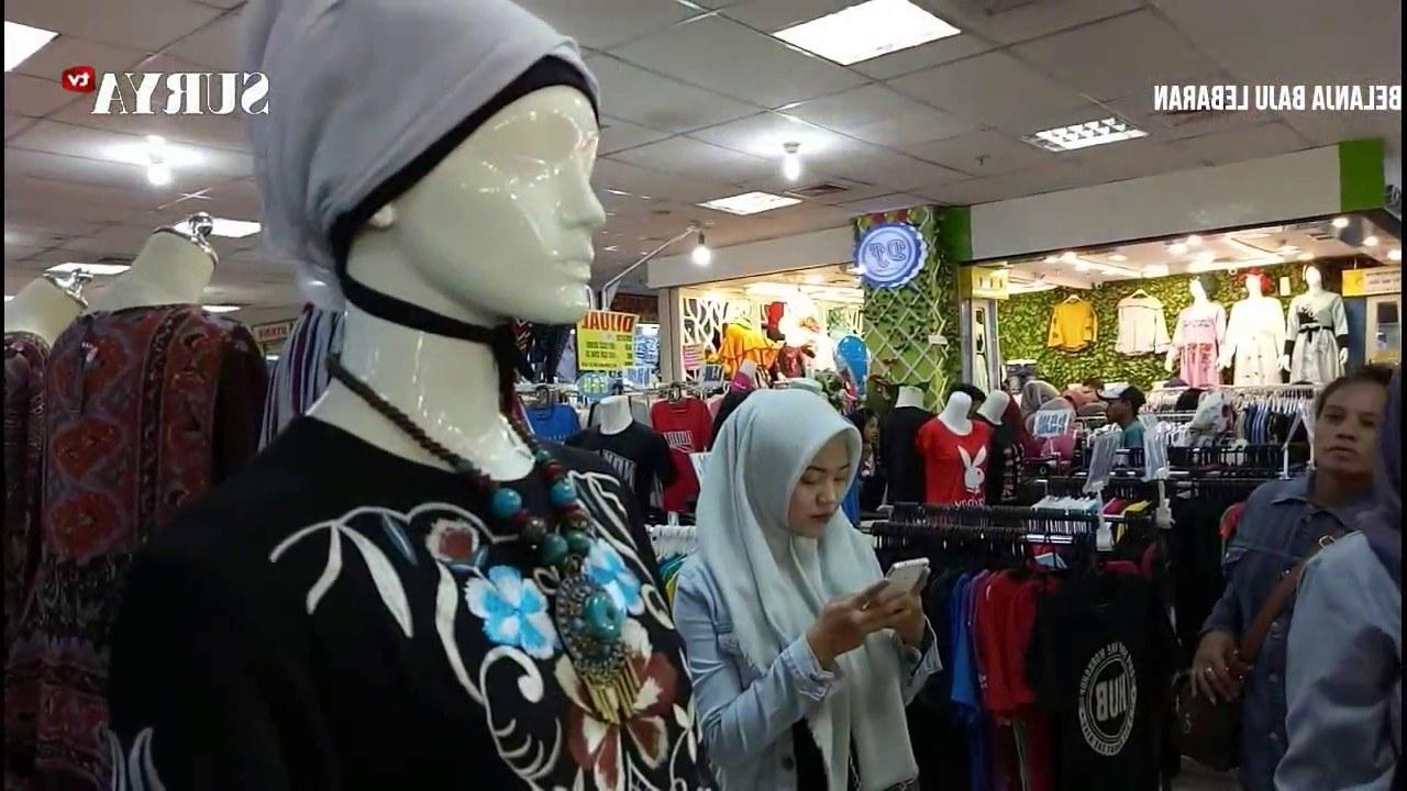 Model Baju Lebaran Gokil Qwdq Ramai Banget Belanja Baju Lebaran Di Mega Grosir Itc