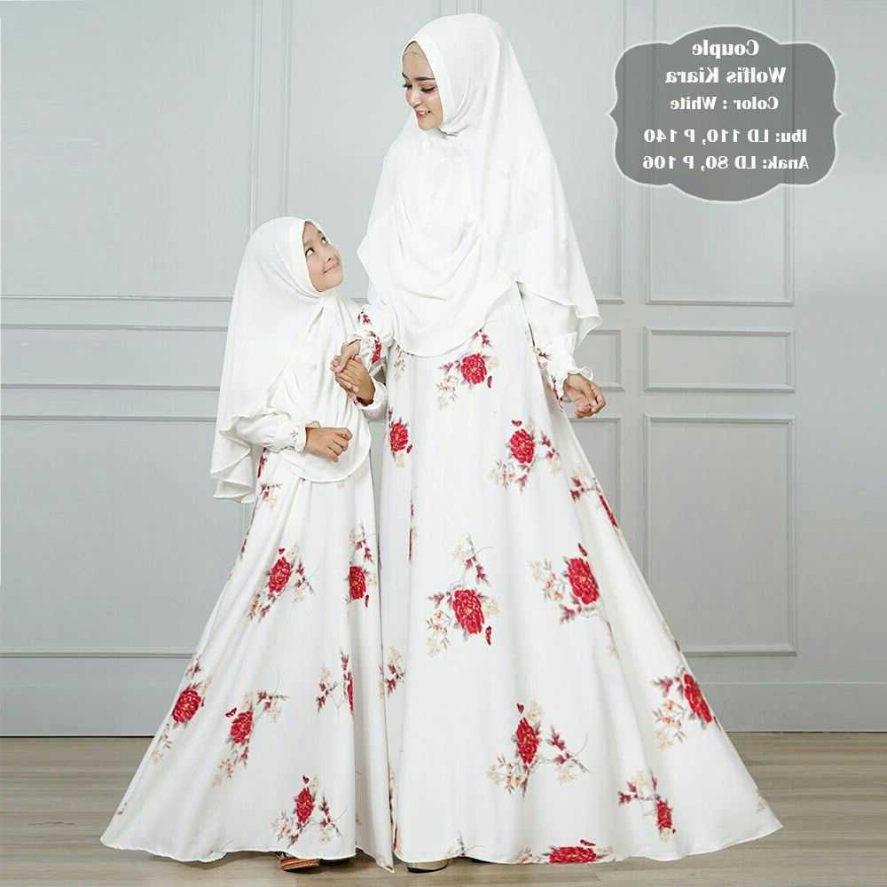 Model Baju Lebaran Ibu Dan Anak Perempuan 9ddf Baju Gamis Ibu Dan Anak Terbaru Kiara Gamisalya