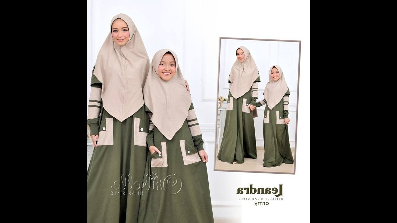 Model Baju Lebaran Ibu Dan Anak Perempuan J7do Gamis Couple Ibu Dan Anak Perempuan 2018 2019