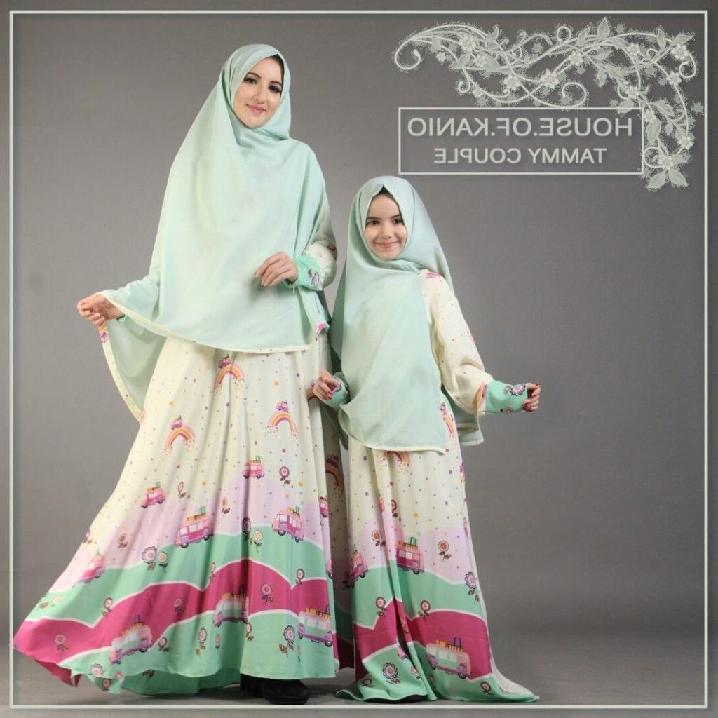 Model Baju Lebaran Ibu Dan Anak Perempuan Jxdu 9 Contoh Baju Muslim Ibu Dan Anak Terbaru Serasi Modis