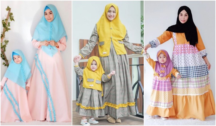Model Baju Lebaran Ibu Dan Anak Perempuan Kvdd 11 Ide Kompakan Baju Lebaran Untuk Ibu Dan Anak Yang