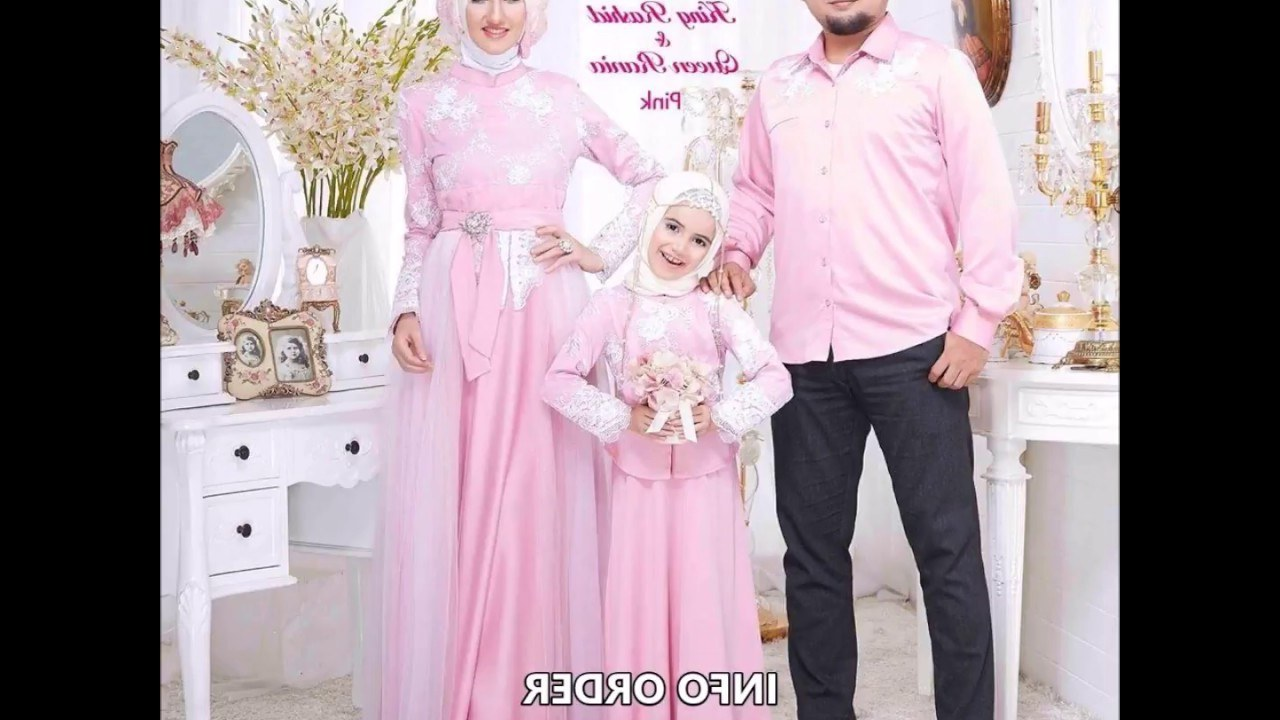 Model Baju Lebaran Keluarga 2019 Bqdd Design Baju Lebaran Keluarga 2018 Baju Sarimbit Lebaran