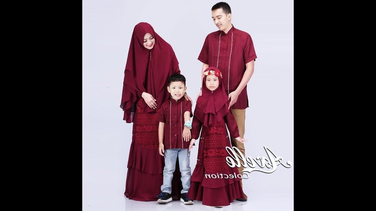 Model Baju Lebaran Keluarga 2019 Zwdg Koleksi Baju Raya 2019 Trend Baju Lebaran 2019