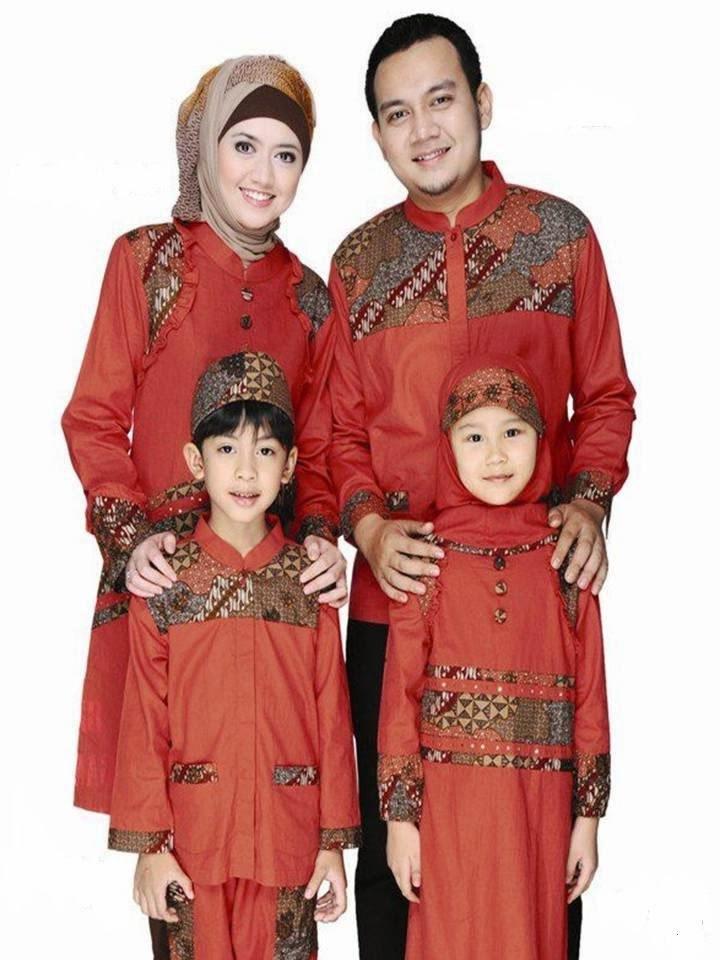 Model Baju Lebaran Keluarga Batik 8ydm Model Baju Muslim Sarimbit Terbaru Untuk Lebaran