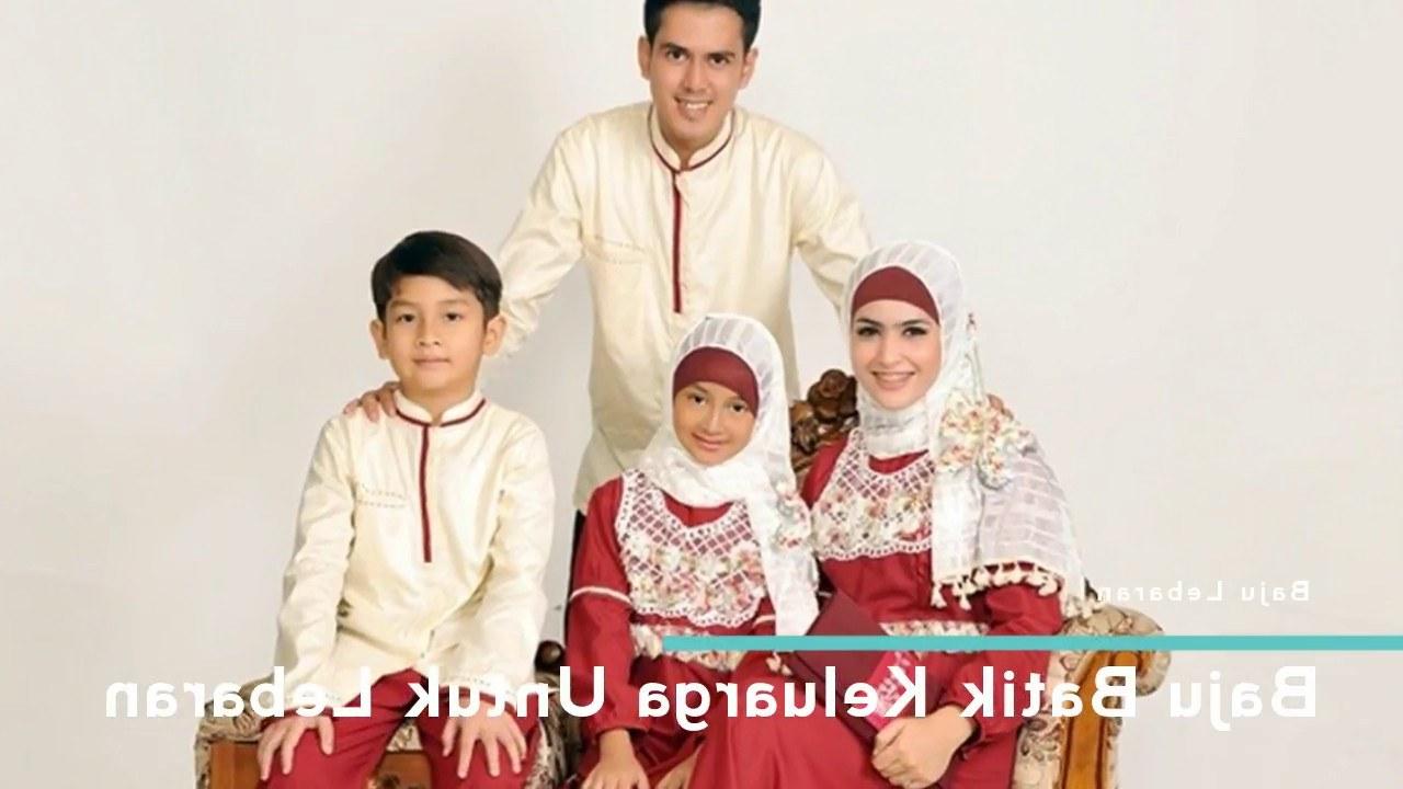 Model Baju Lebaran Keluarga Batik Etdg Baju Batik Keluarga Untuk Lebaran