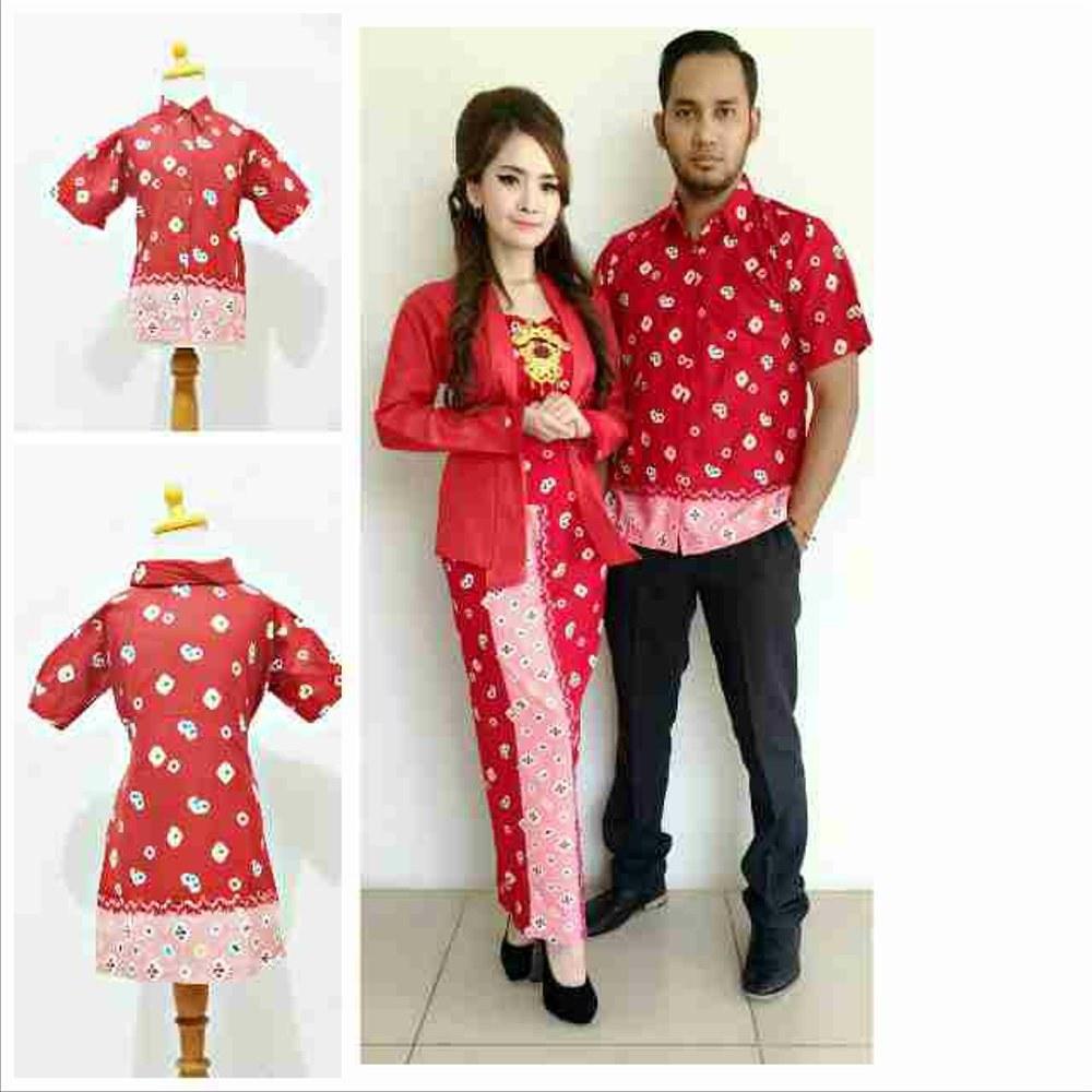 Model Baju Lebaran Keluarga Batik Etdg Jual Batik Keluarga Batik Couple Dan Anak Baju Lebaran