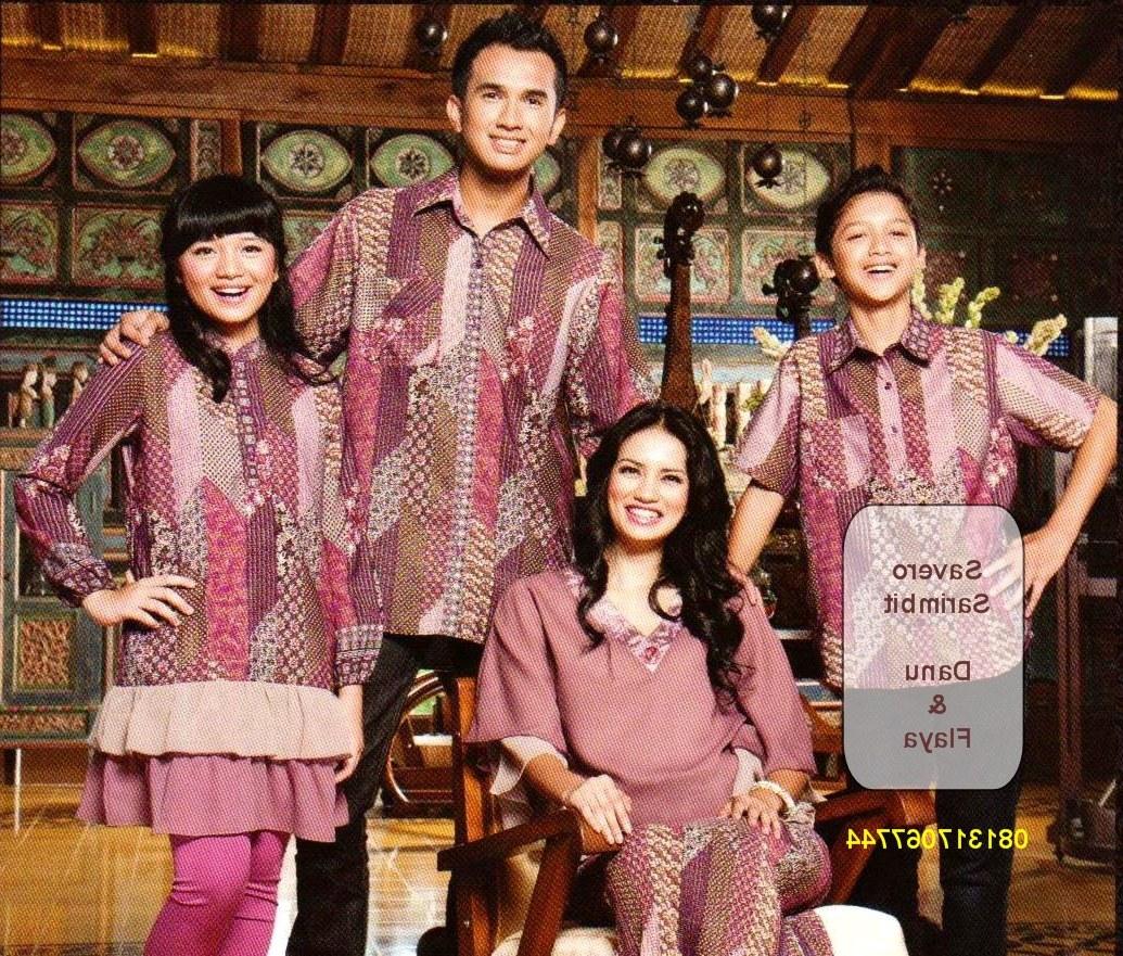 Model Baju Lebaran Keluarga Batik J7do Modelbaju24 Model Baju Batik Keluarga Terbaru