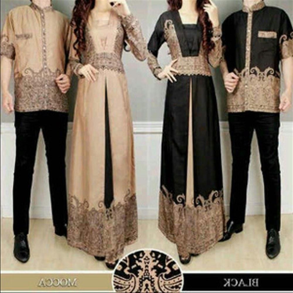 Model Baju Lebaran Mewah 87dx Jual Baju Muslim Lebaran Suami and istri Trend Batik Mewah