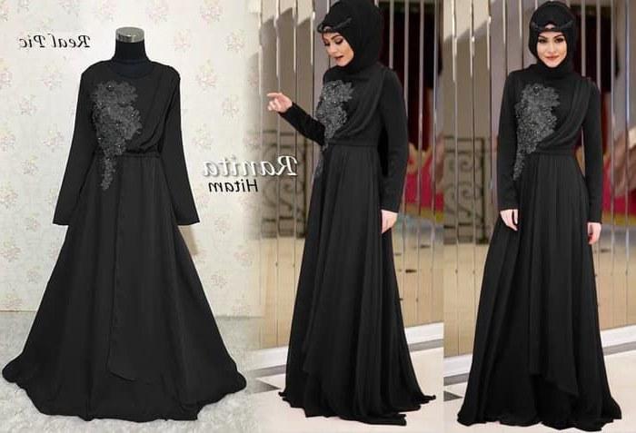 Model Baju Lebaran Mewah Tldn Baju Gamis Pesta Mewah 2019 Ranita Katalog Bajugamismu
