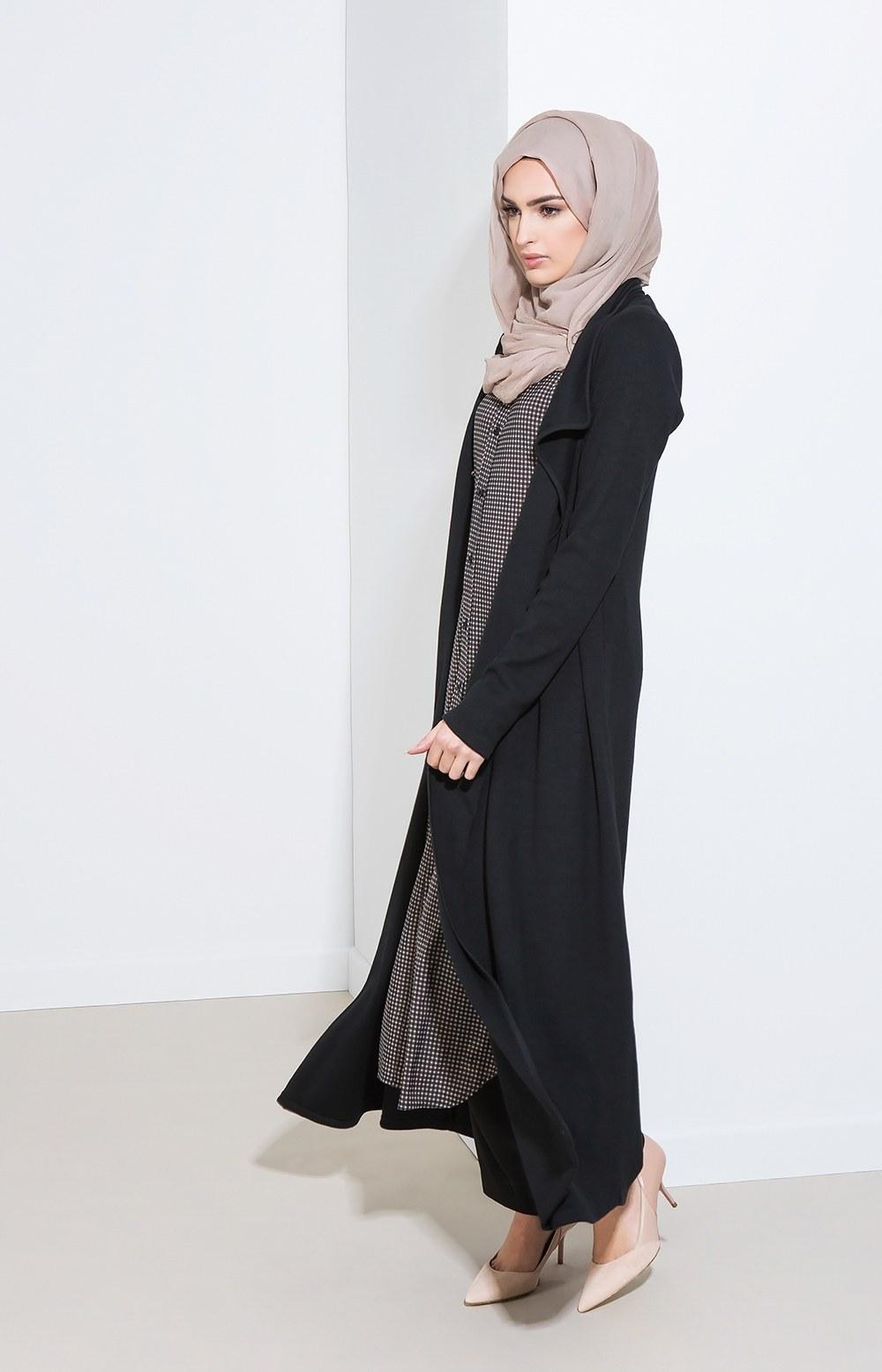 Model Baju Lebaran Modis 3ldq 25 Trend Model Baju Muslim Lebaran 2018 Simple & Modis