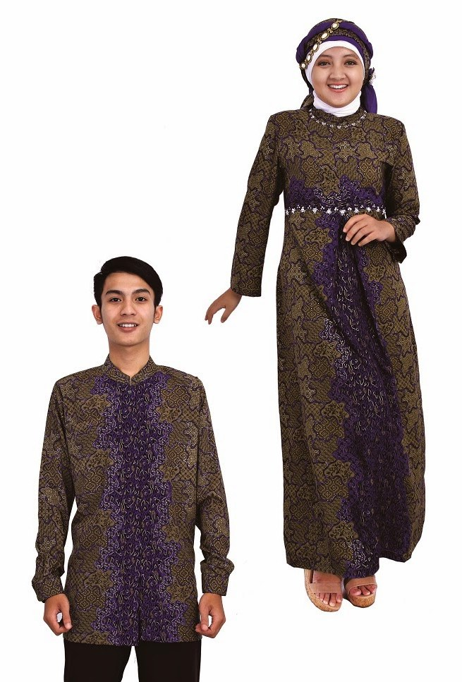 Model Baju Lebaran Pasangan Qwdq Baju Muslim Terbaru 2014 Baju Muslim Sarimbit Baju