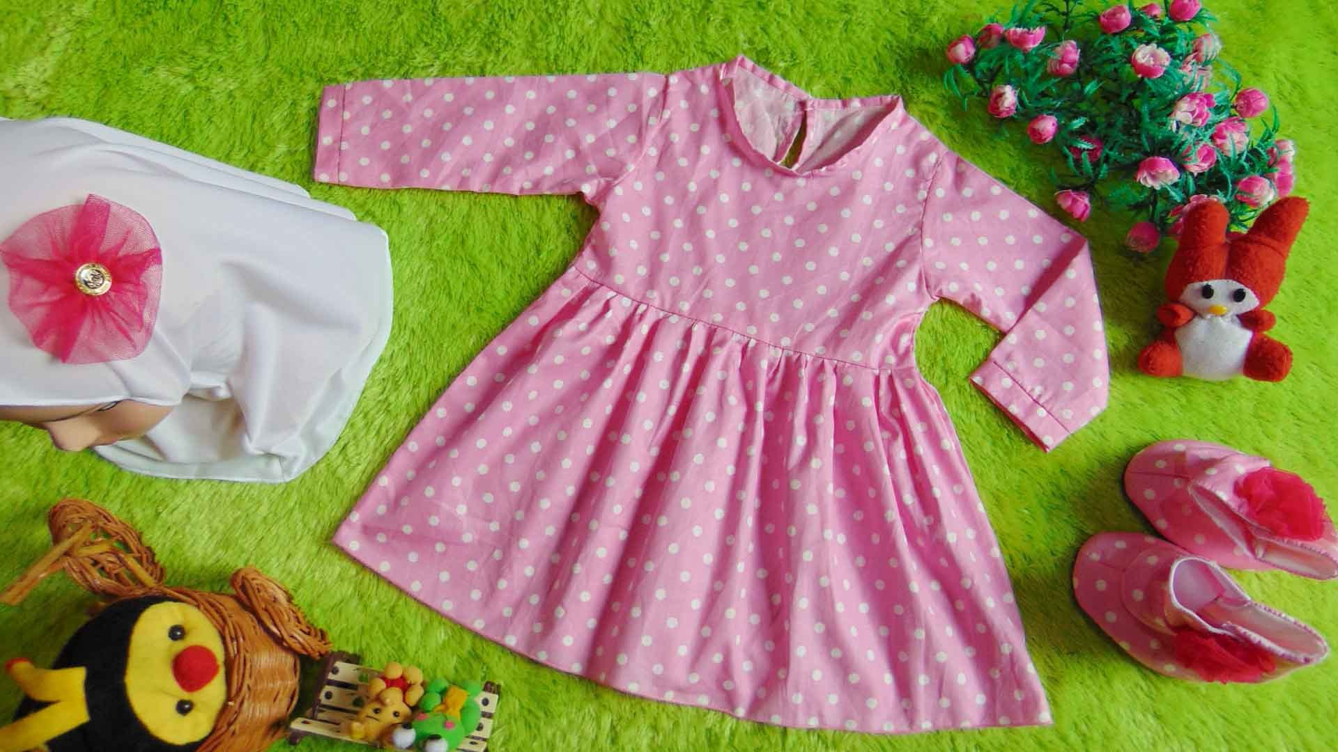 Model Baju Lebaran Perempuan 2018 S1du Baju Lebaran Untuk Bayi Perempuan Nusagates