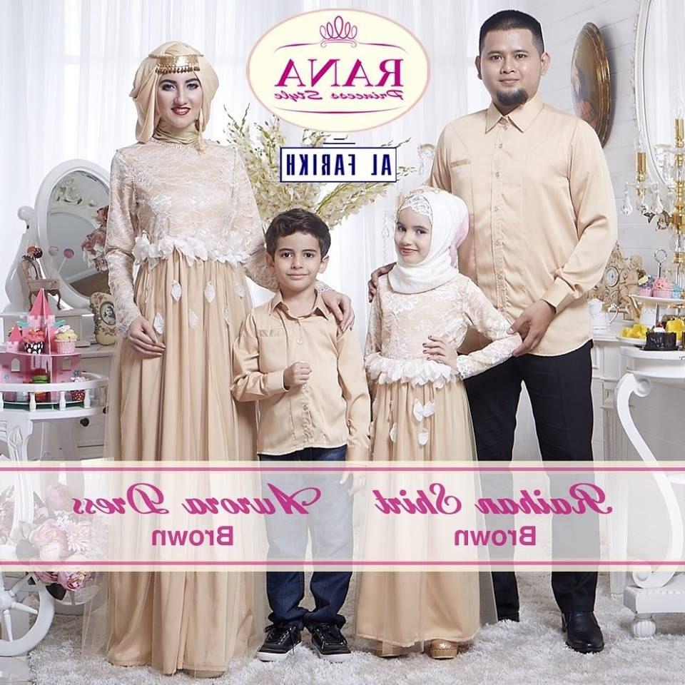 Model Baju Lebaran Seragam Keluarga Y7du Baju Seragam Lebaran Keluarga 2018 Gambar islami